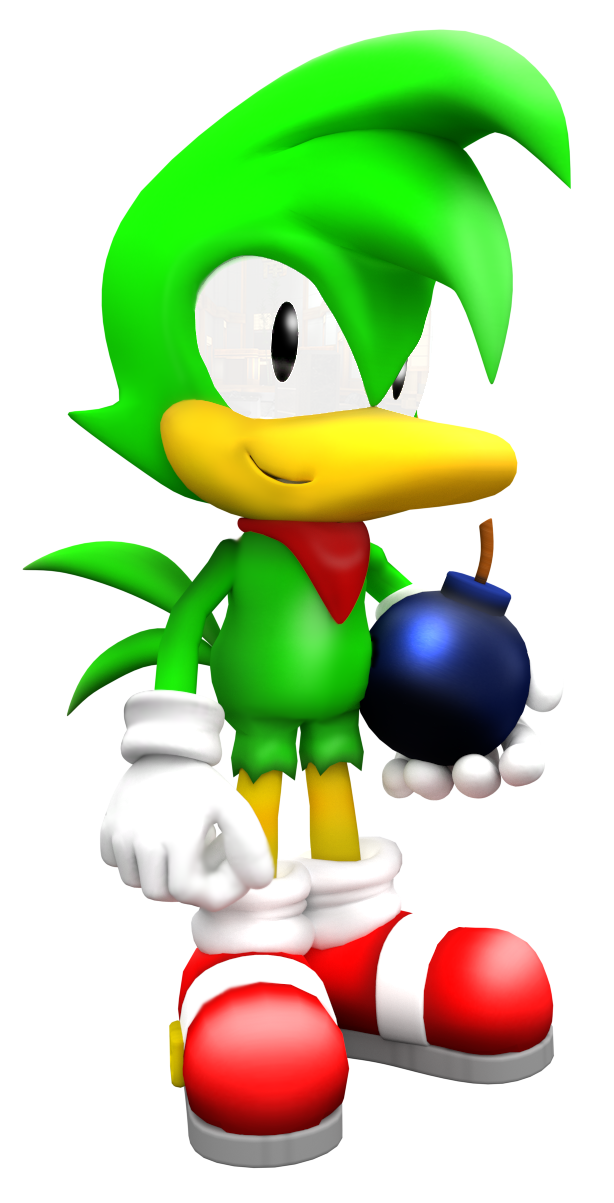 Dynamite transparent bomb. Bean the and his