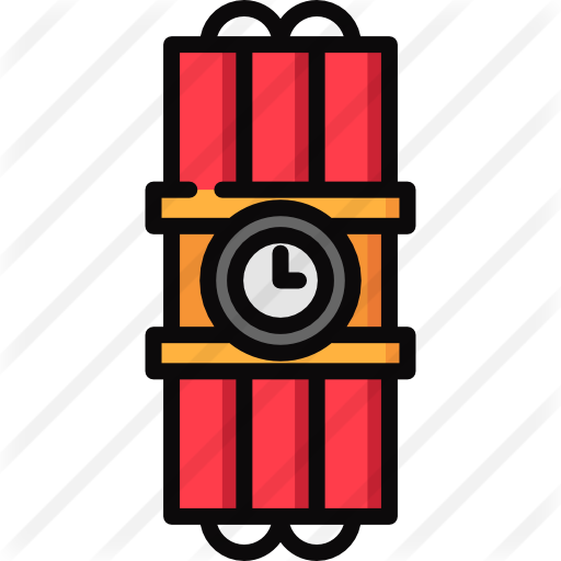 Dynamite vector tnt bomb. Free security icons icon