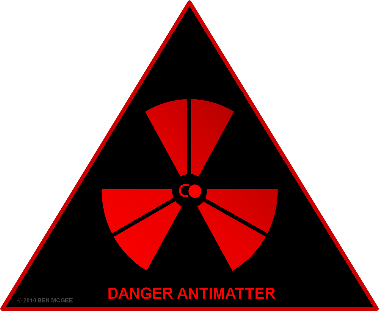 Environment vector hazard. Antimatter fuel atomic rockets