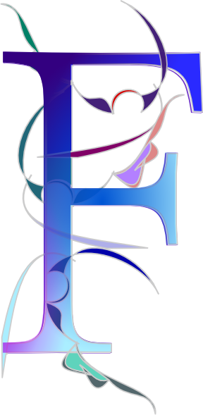 F clip art at. E clipart blue letter png black and white library