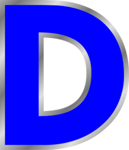 d vector letter