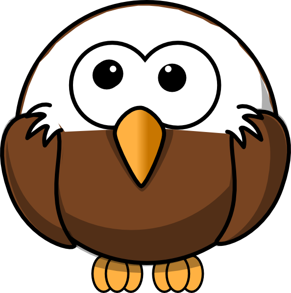 Clip art vector online. Eagle clipart baby eagle graphic black and white