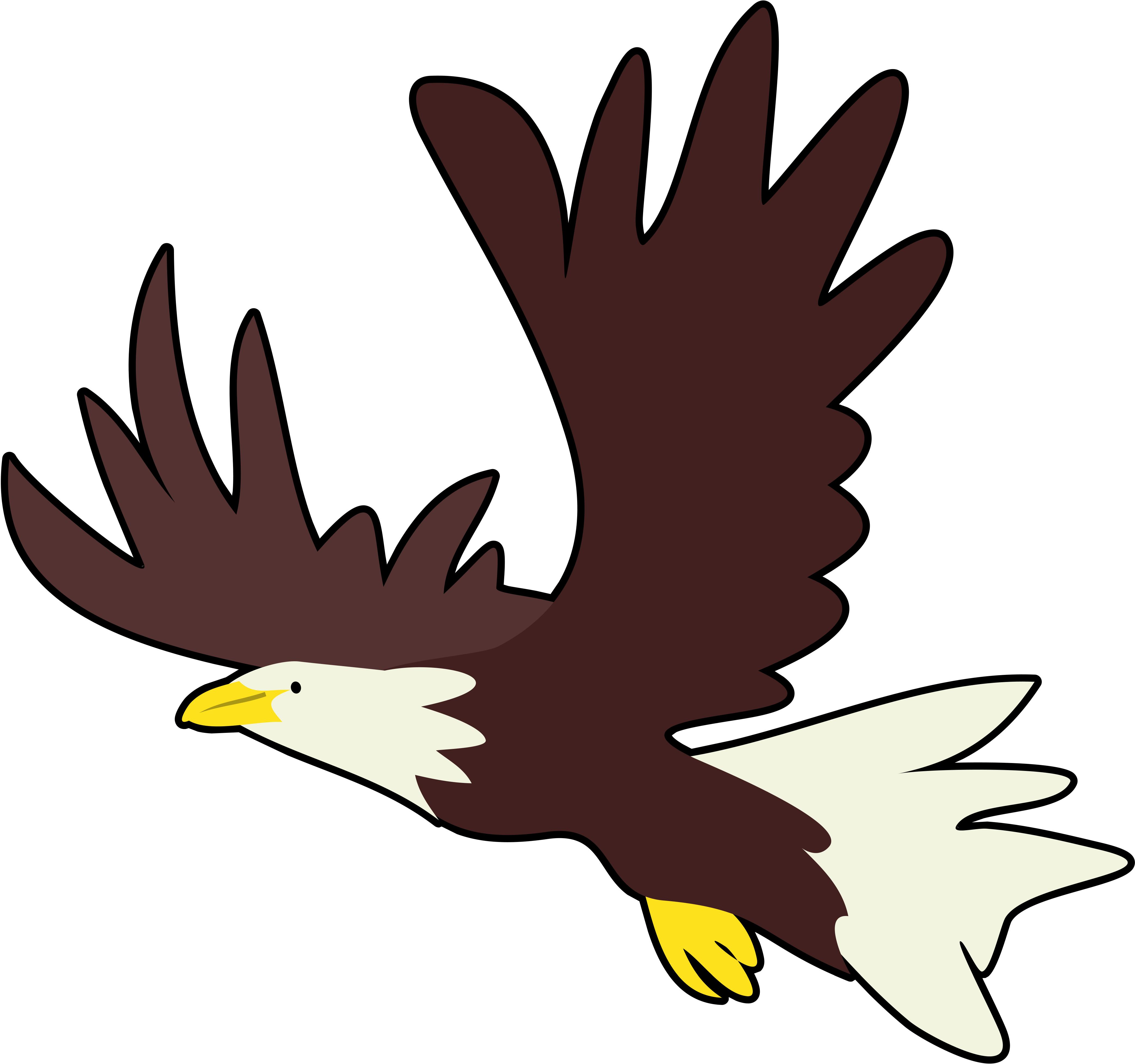 Eagle clipart baby eagle. At getdrawings com free