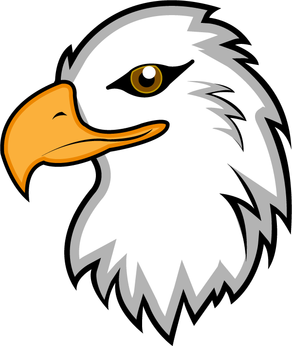 Eagle head vector png. Eagles clipart