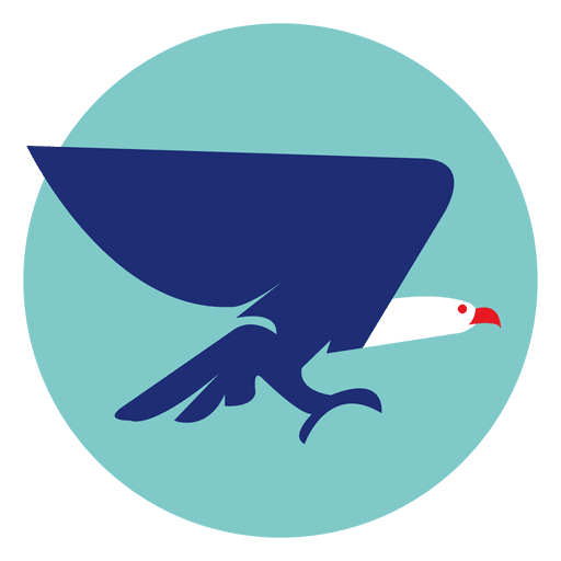 Eagle icon png. Round transparent svg vector