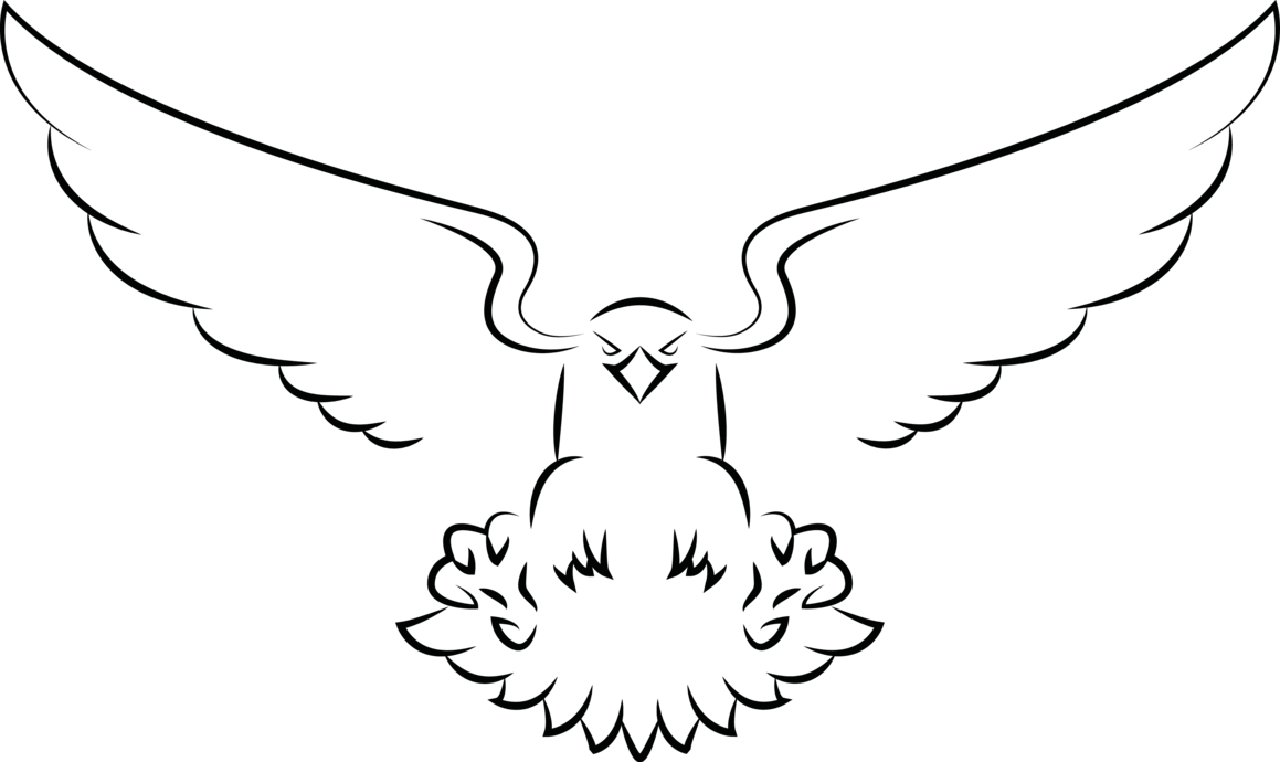 Eagle vector png. By souklin on deviantart