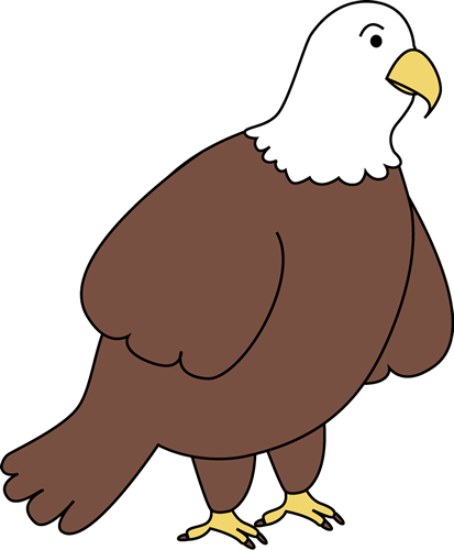 Bald clipart bald girl. Eagle fourth of july