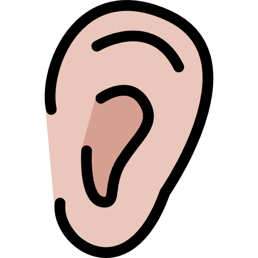 Ear cartoon png. Free medical icons icon