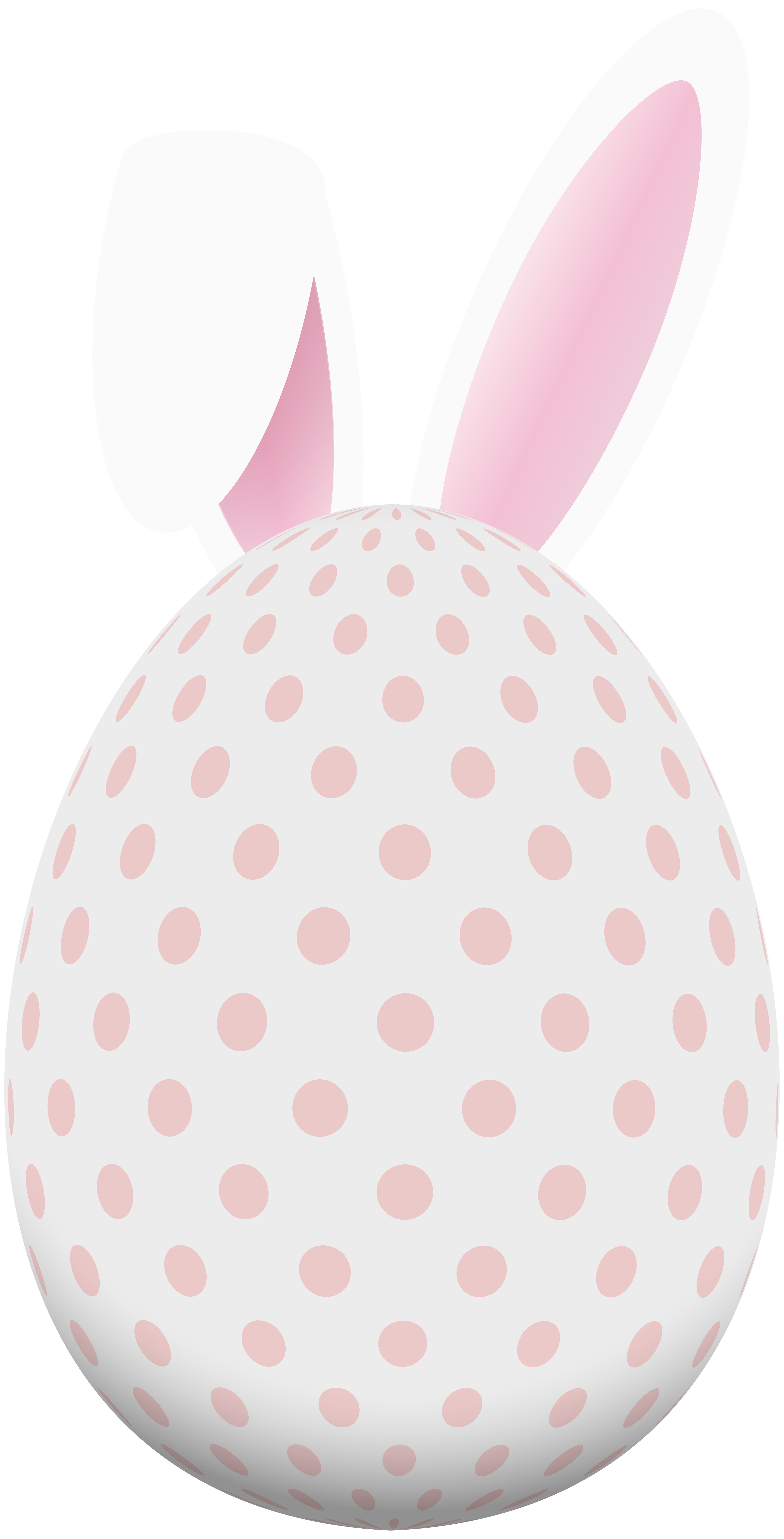 Bunny ears png. Easter egg with clip