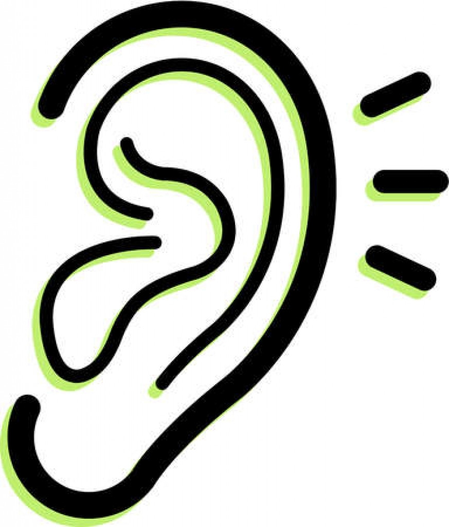 Hearing clipart. Ear transparent png stickpng