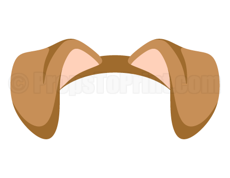 Ears clipart brown. Free dog ear cliparts