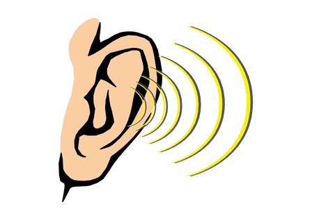 Ear clipart sense hearing. Those with ears to