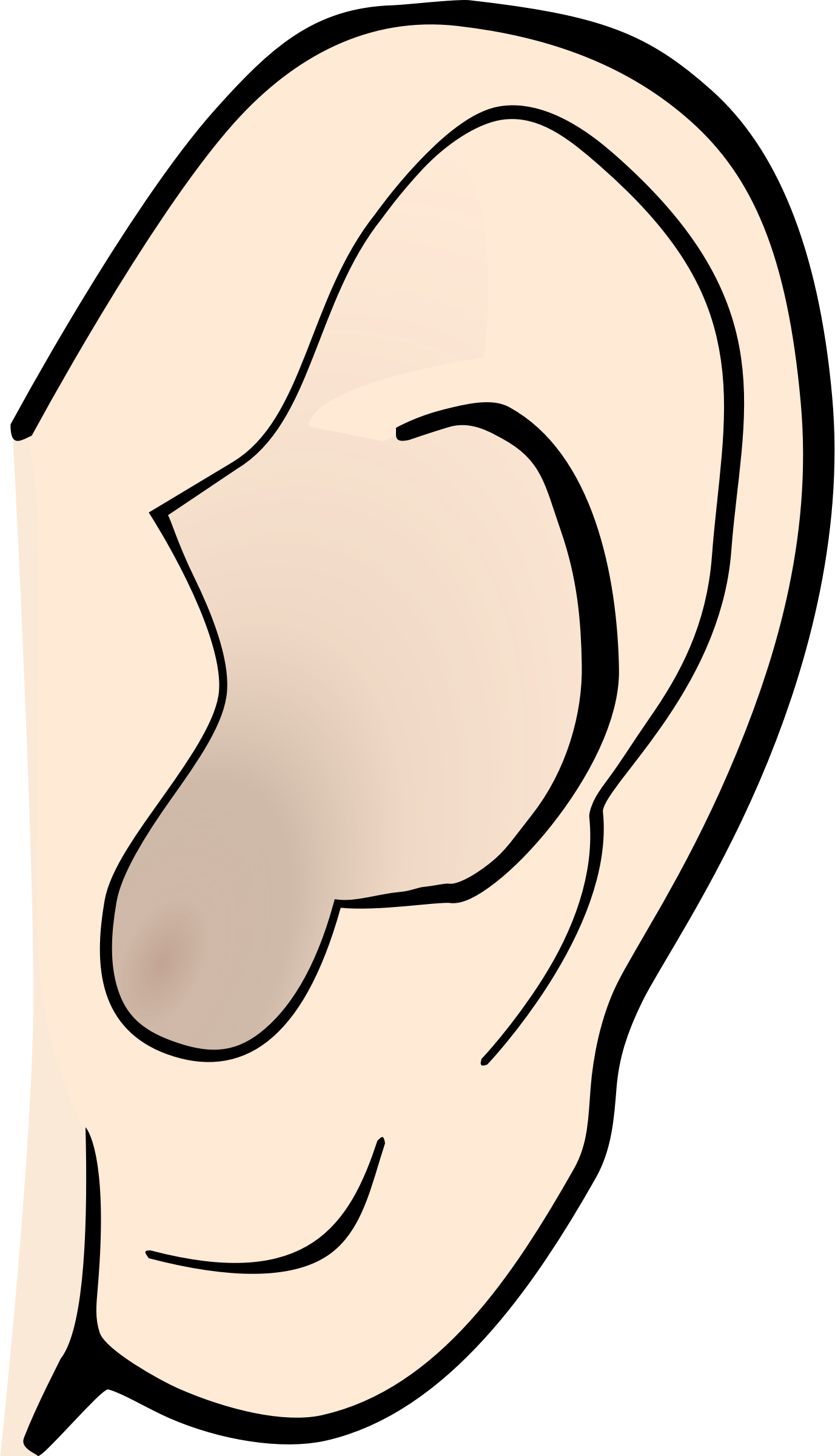 Ear clipart sense hearing. Senses at getdrawings