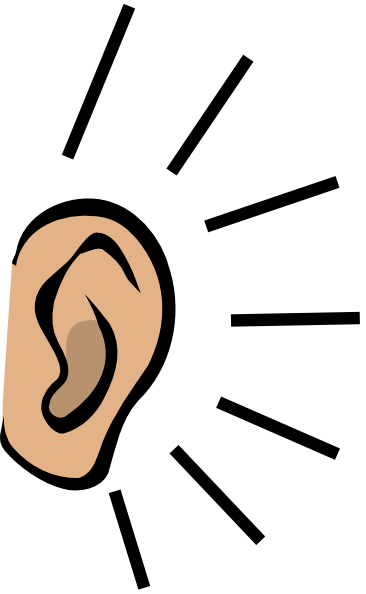 ears clipart sense hearing