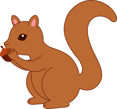 Ear clipart squirrel. Free cliparts download clip