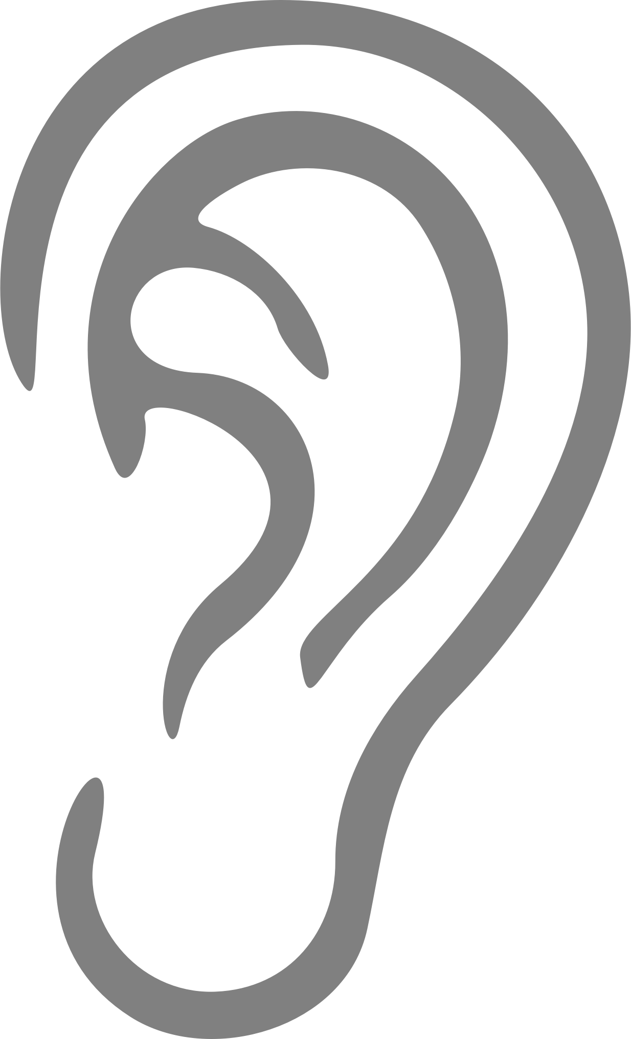 Ear png. Image with transparent background