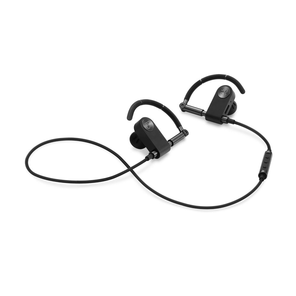 Earbud clip active. Earset crafted for comfort