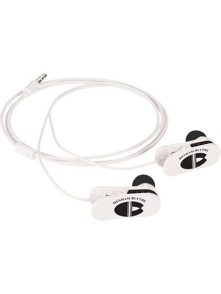Earbud clip retractable. Customize a on wired