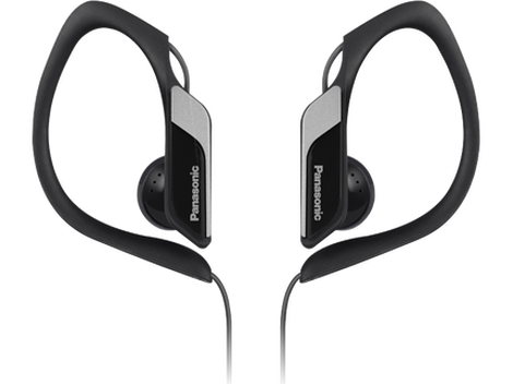 Earbud clip sport. Sports water resistant headphones