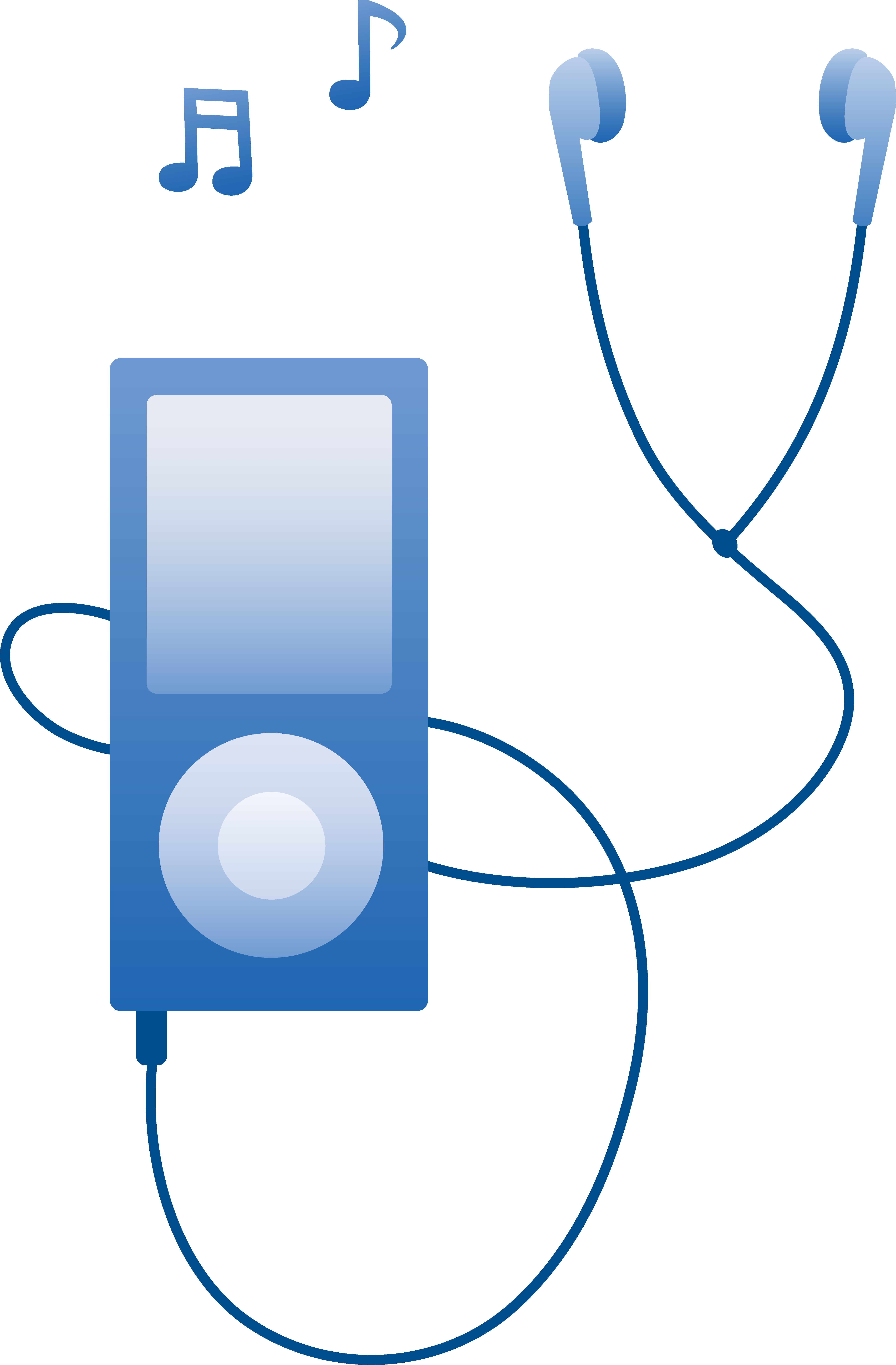 earbuds vector mp3 player