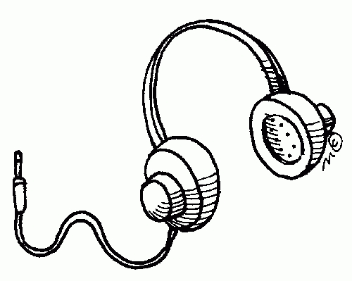 Earbuds clipart draw