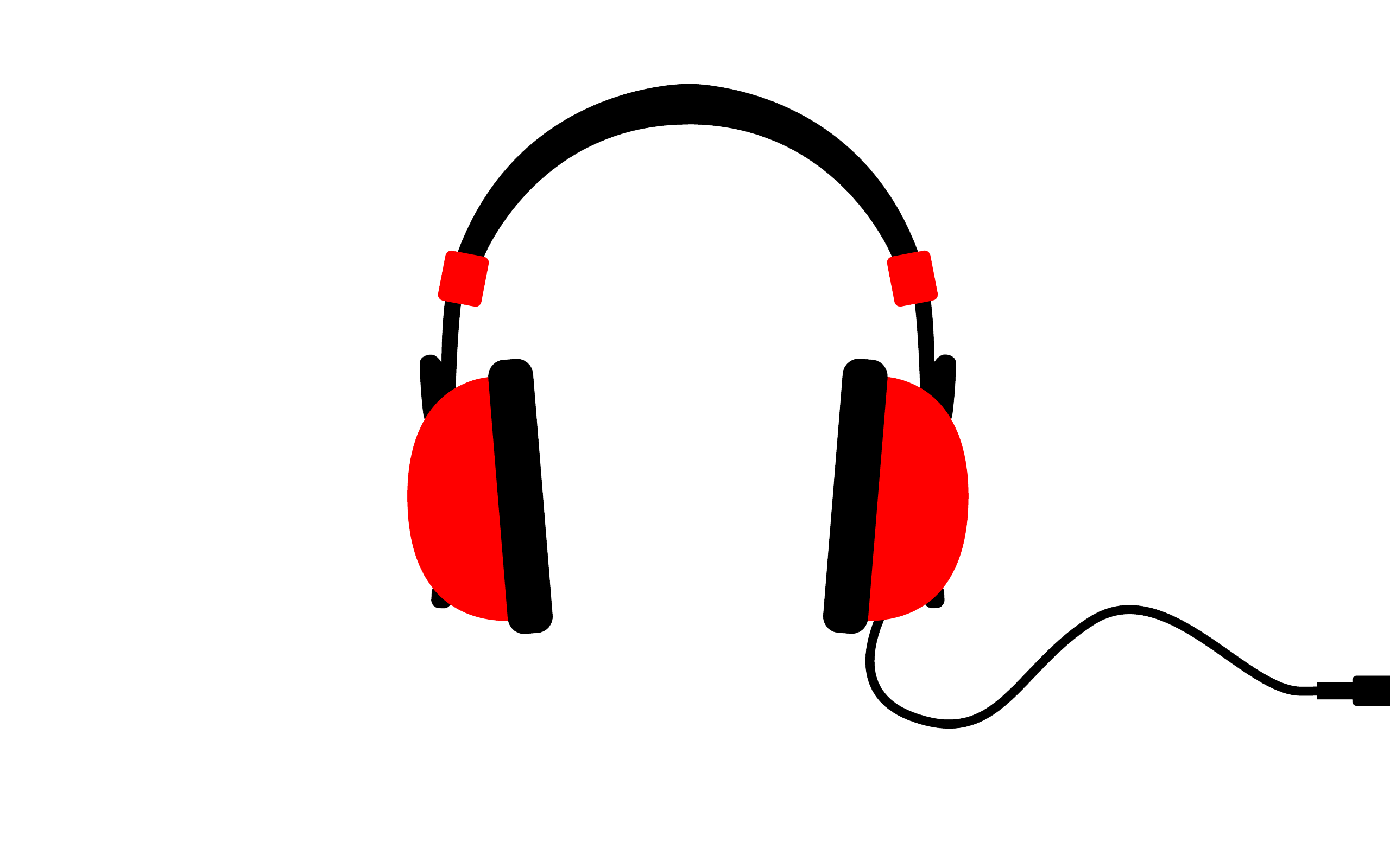 headphone transparent royalty free