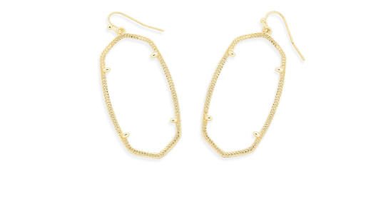 Earring vector jewellery design. Customize your own jewelry
