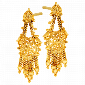 Earrings drawing bride indian. Forever fashion k gold