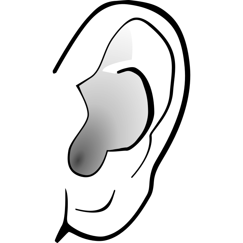 Ears clipart. Free ear cliparts download