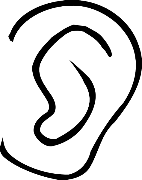 black ear png