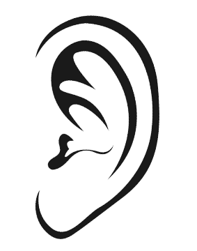 Ears clipart simple. Musical ear training