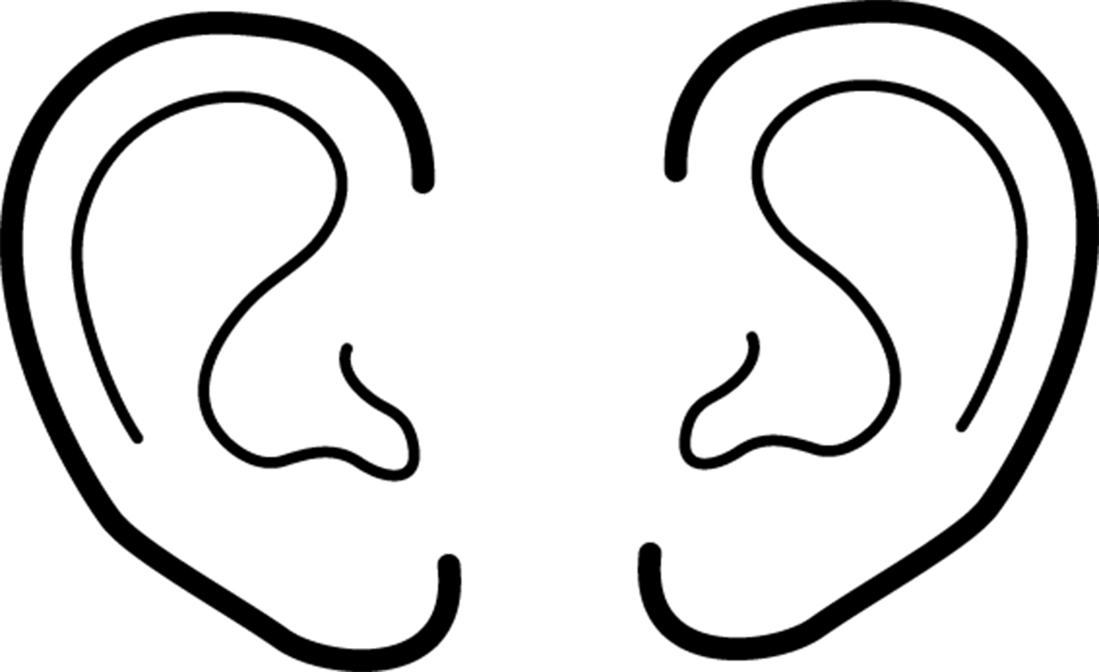 Ears clipart simple. Awesome design digital collection