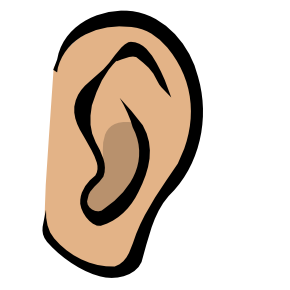 Ears clipart. Free ear
