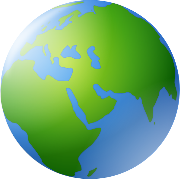 Earth clip art small. Collection of free globed