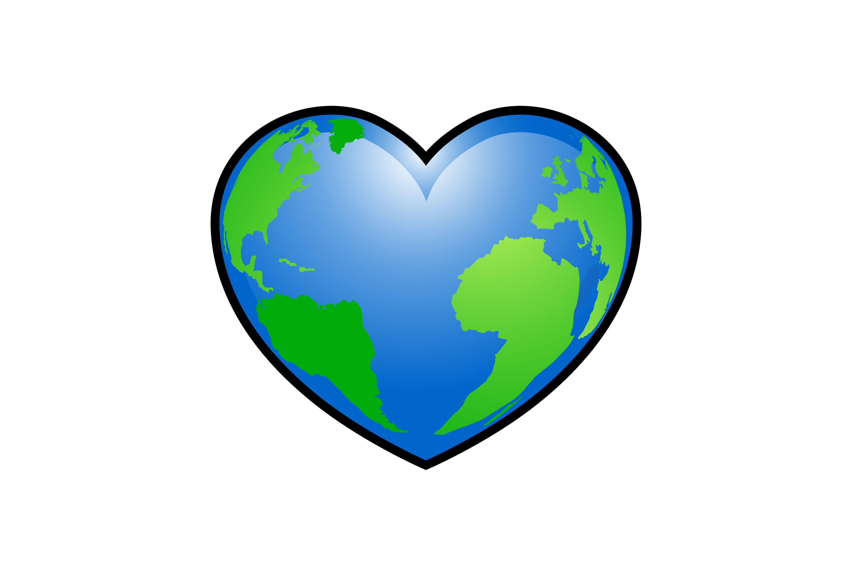 Earth clip environmentalist. Environment clipart heart cute