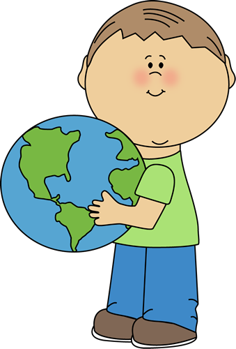 Earth clip kid. Clipart for kids at