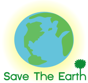 Save earth clip art. Vector 9 logo banner royalty free