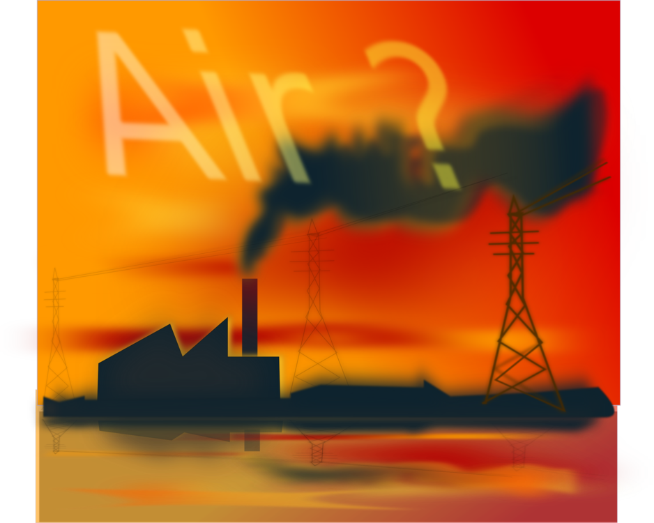 Air atmosphere of earth. Pollution clipart drawing banner freeuse library