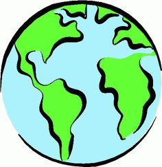 Earth clipart simple. Map silhouette at getdrawings