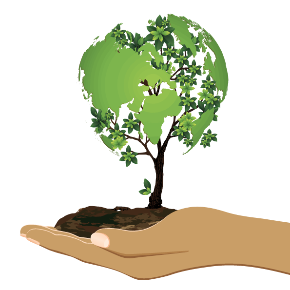 Tree and soil png. Earth day bank south