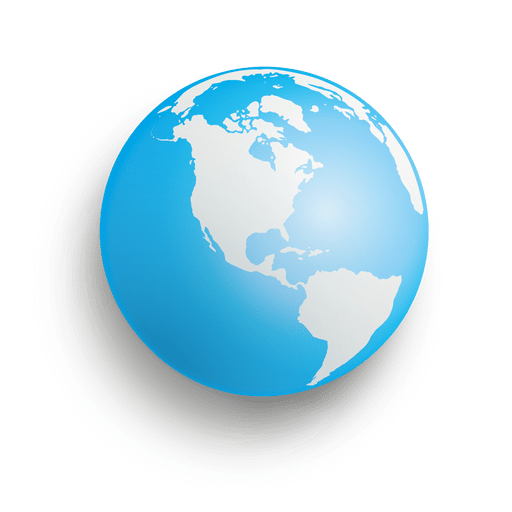 Earth transparent png. Blue sphere svg vector