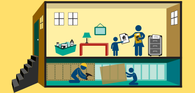 Earthquake clipart management. Steps to safety