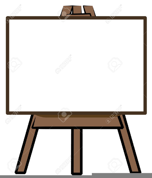 Easel clipart. Free art images at