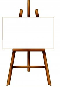 Free and things pinterest. Easel clipart homemade image stock