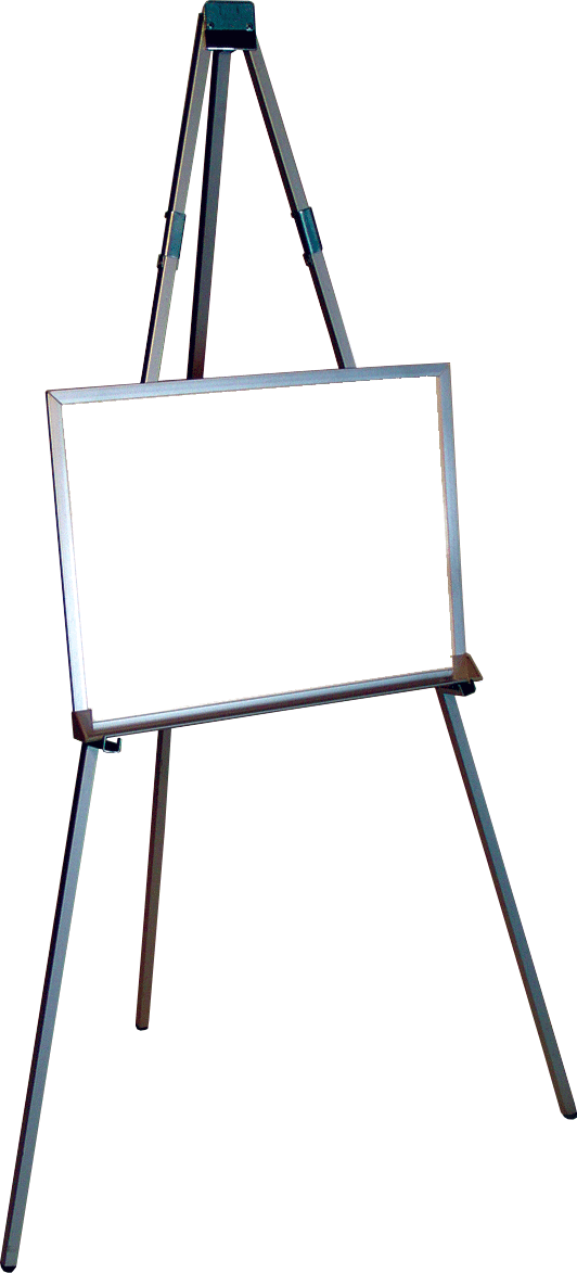 Home top mid position. Easel clipart whiteboard easel jpg black and white stock