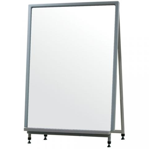 Convertible magnetic with stand. Easel clipart whiteboard easel clip freeuse library