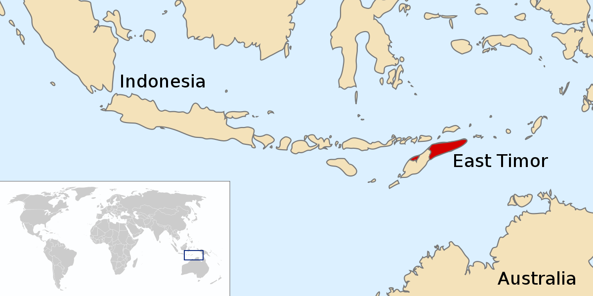 Indonesian occupation of wikipedia. East Timor picture black and white