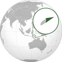 East Timor. Wikipedia location of