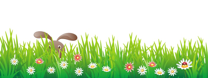 Easter grass png. Flowers image background arts
