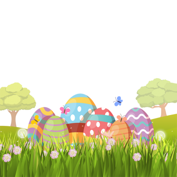 Easter background png. Images vectors and psd